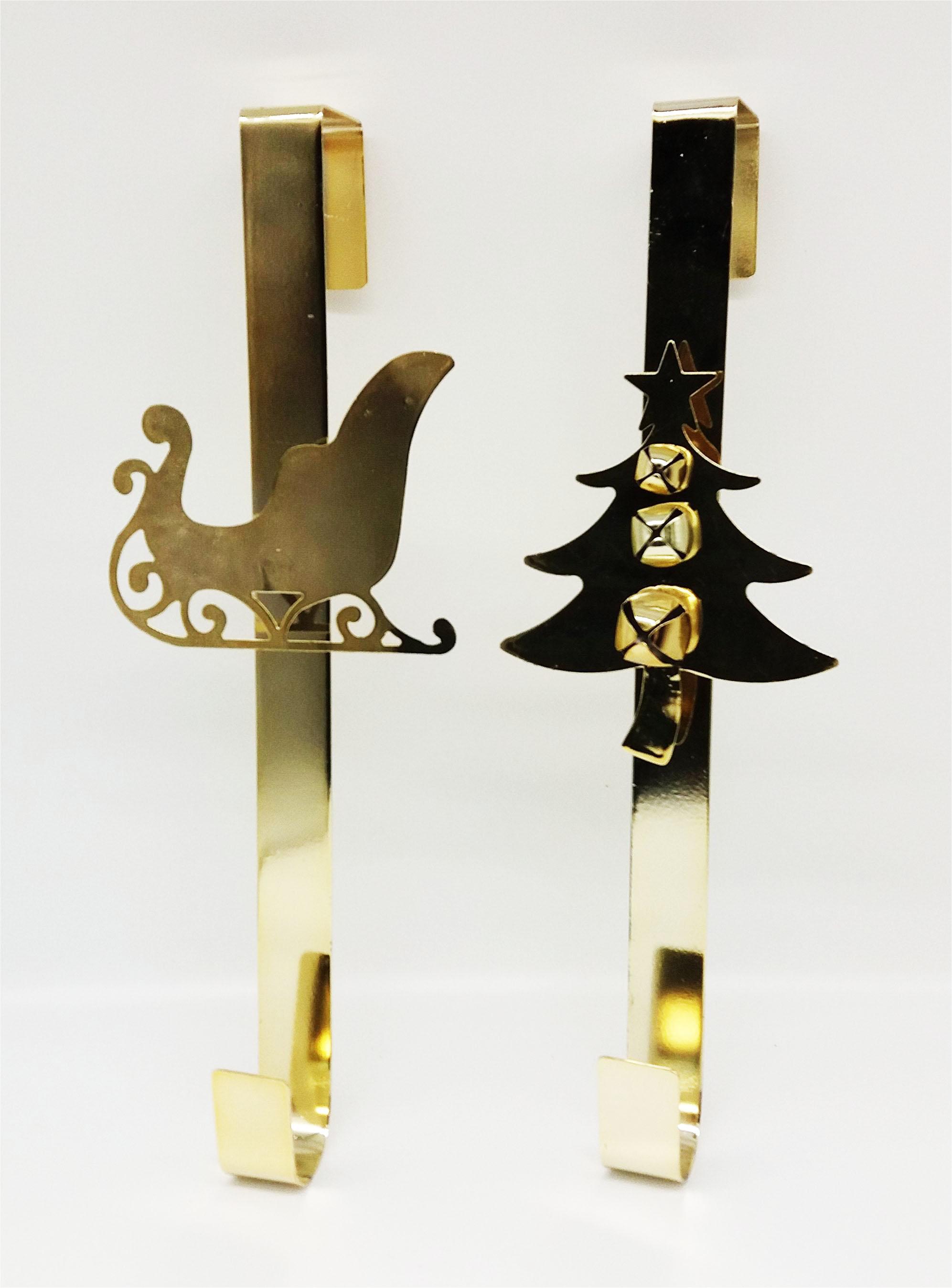 Toyland/® 28cm Gold Metal Christmas Wreath Hanger